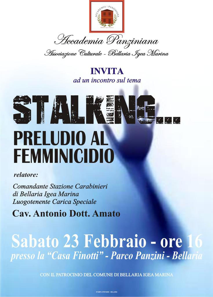 Stalking… preludio al femminicidio